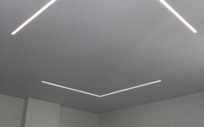 Plafond tendu à Arlon