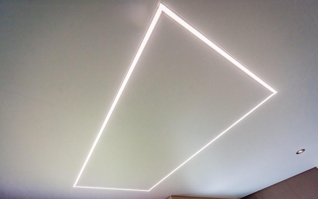 Pose de plafond tendu au Luxembourg