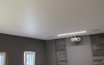 Plafond tendu à Longwy