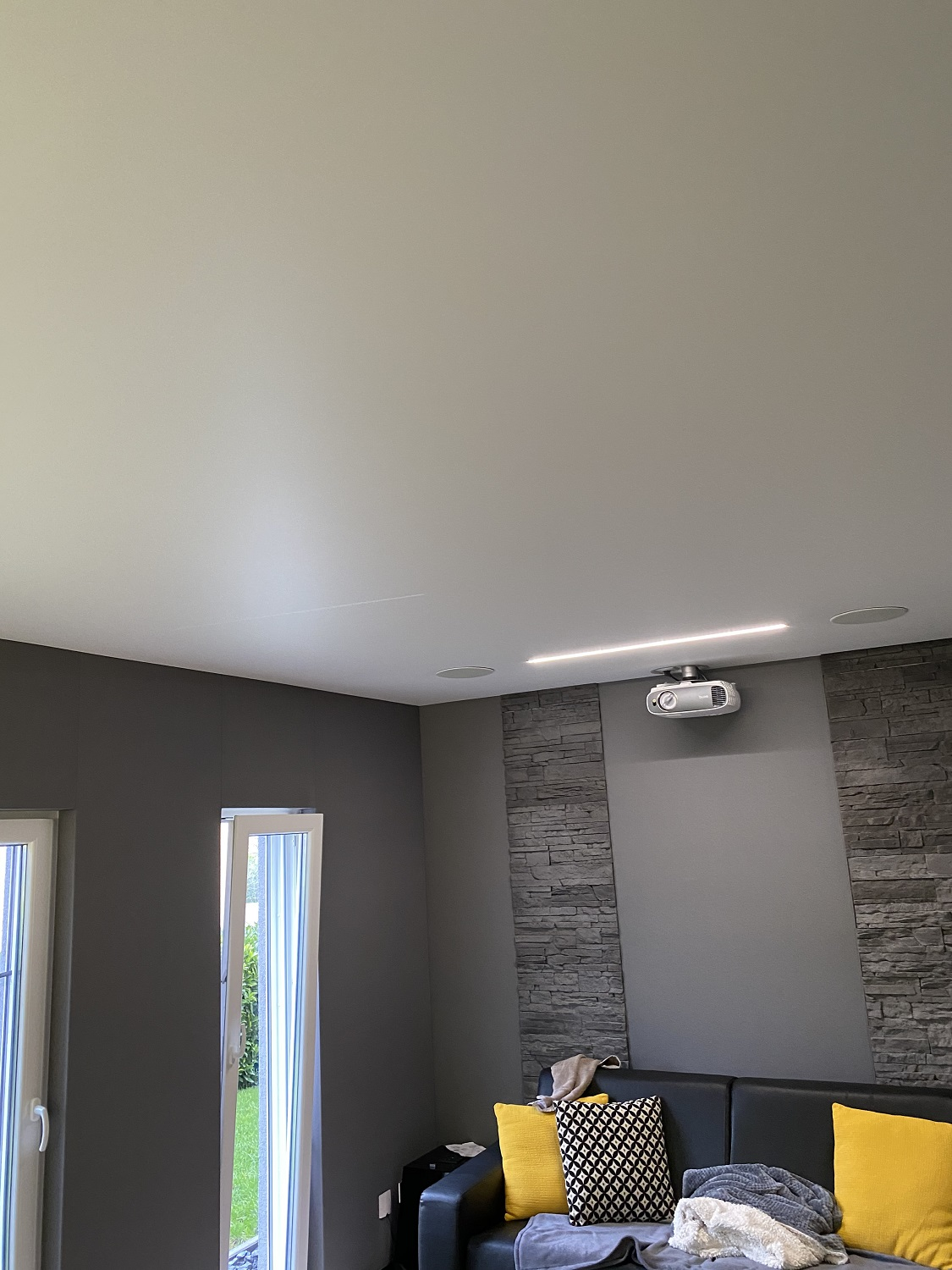 plafond tendu led